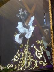 Hier ist der Herr Jesus schwarz...