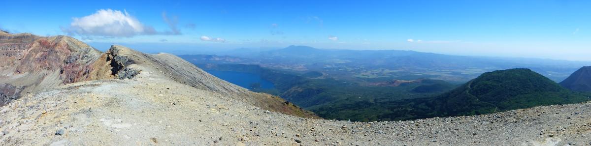 Vulcanwanderung mit toller Aussicht auf den Lago Coatepeque