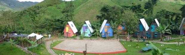 Unser Hostel in Semuc Champey