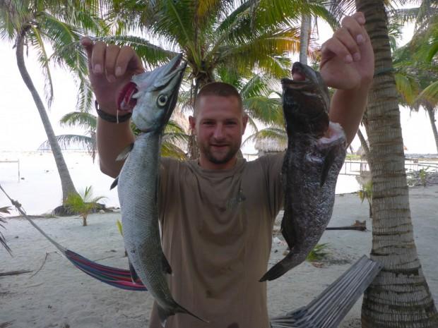 Fischplatte für 2 am ersten Tag