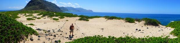 westspitze der Insel Oahu und Vogelreservat