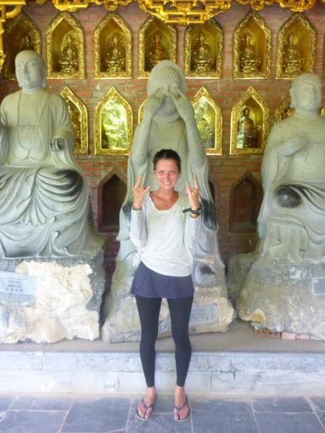 Anna und die Buddhas